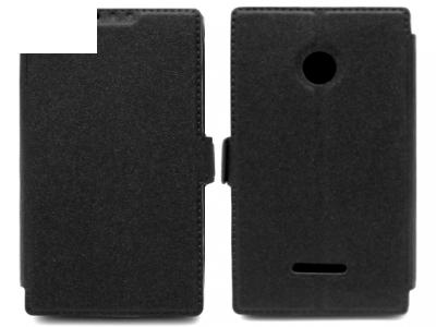 Ultra Thin ΚΑΛΥΨΗ ΠΕΡΙΠΤΩΣΗΣ ΓΙΑ MICROSOFT LUMIA 532 RM-1032 - Μαύρο