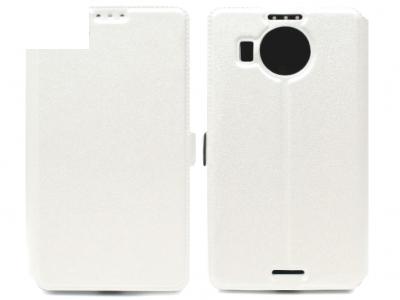 Ultra Thin Δέσιμο στο πλάι υπόθεση Microsoft LUMIA 950 XL RM-1116 - Λευκή