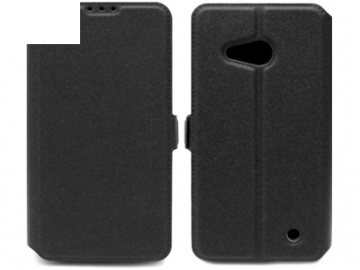 Ultra Thin SIDE ΚΑΛΥΨΗ ΠΕΡΙΠΤΩΣΗΣ για το Microsoft LUMIA 550-RM 1127 - Μαύρο