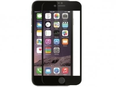 СТЪКЛЕН УДАРОУСТОЙЧИВ СКРИЙН ПРОТЕКТОР С РАМКА ЗА iPhone 6 / 6s - Black