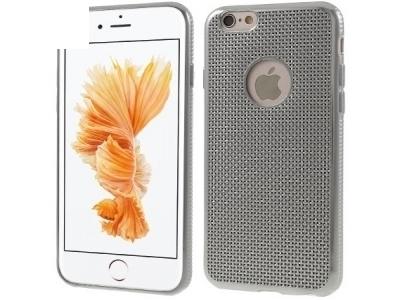 СРЕБРИСТ СИЛИКОНОВ ПРОТЕКТОР ЗА iPhone 6 Plus / 6s Plus 5.5-inch - Silver
