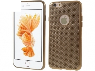 SILICON PROTECTOR FOR iPhone 6 Plus / 6s Plus 5.5-inch - Gold