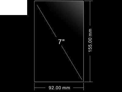 УНИВЕРСАЛЕН СКРИЙН ПРОТЕКТОР 7.0-инча - 155 х 92мм