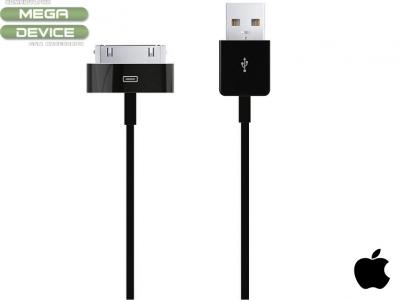 ОРИГИНАЛЕН USB DATA КАБЕЛ ЗА iPad / iPad 2  1m - Black