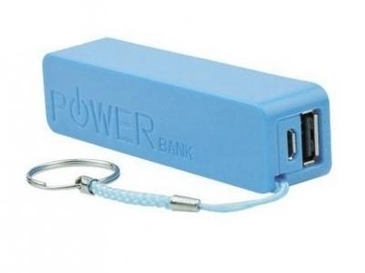 УНИВЕРСАЛНА БАТЕРИЯ Power Bank 2600mAh - Blue