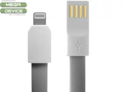USB КАБЕЛ 20см ЗА iPhone 6 Plus / 6s Plus 5.5-inch - Grey