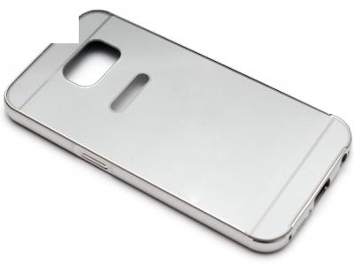 ГЛАНЦИРАН PVC ПРОТЕКТОР ЗА SAMSUNG GALAXY S6 SM-G920 - Silver