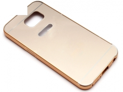 ГЛАНЦИРАН PVC ПРОТЕКТОР ЗА SAMSUNG GALAXY S6 SM-G920 - Gold