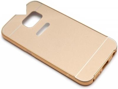 ГЛАНЦИРАН PVC ПРОТЕКТОР ЗА SAMSUNG GALAXY EDGE S6 SM-G925F - Gold