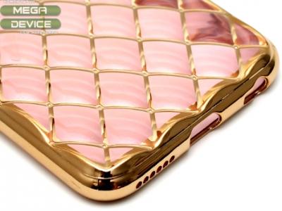 СИЛИКОНОВ ПРОТЕКТОР LUXURY ЗА iPhone 6 4.7-inch - Rose Gold