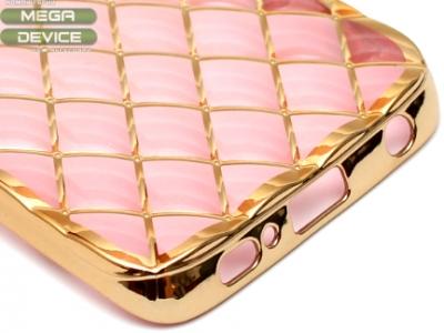 СИЛИКОНОВ ПРОТЕКТОР LUXURY ЗА SAMSUNG GALAXY S6 EDGE SM-G925F - Rose Gold