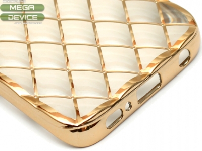 СИЛИКОНОВ ПРОТЕКТОР LUXURY ЗА SAMSUNG GALAXY S6 EDGE SM-G925F - Gold