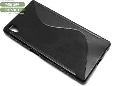 СИЛИКОНОВ ПРОТЕКТОР ЗА SONY XPERIA Z5 Dual SIM E6603 - Black