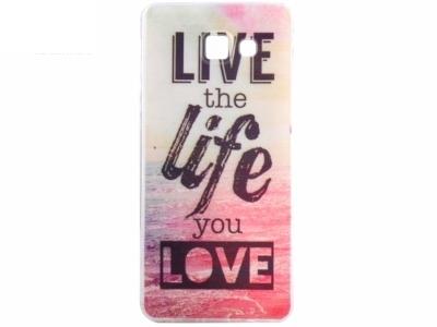 СИЛИКОНОВ ПРОТЕКТОР ЗА SAMSUNG GALAXY A5 (2016) SM-A510F - Live the Life You Love