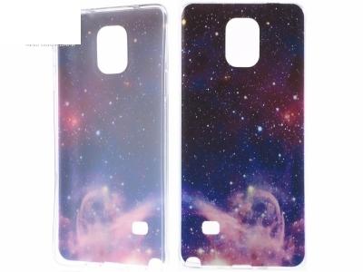 СИЛИКОНОВ ПРОТЕКТОР 0.6мм ЗА SAMSUNG GALAXY NOTE 4 SM-N910 - Galaxy Nebula
