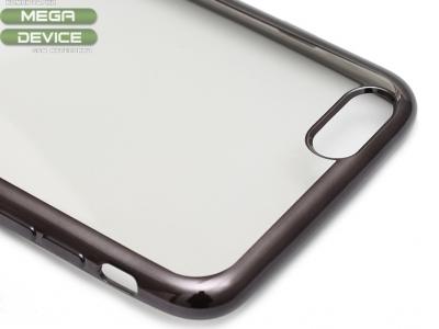 ПРОЗРАЧЕН СИЛИКОНОВ ПРОТЕКТОР С ЛАЙСНА ЗА iPhone 6 Plus 5.5-inch - Graphite