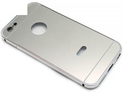 ГЛАНЦИРАН PVC ПРОТЕКТОР ЗА iPhone 6 4.7-inch - Silver