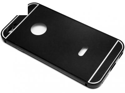 ГЛАНЦИРАН PVC ПРОТЕКТОР ЗА iPhone 6 4.7-inch - Black
