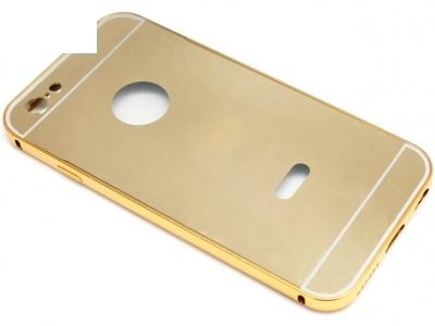 ГЛАНЦИРАН PVC ПРОТЕКТОР ЗА iPhone 6 4.7-inch - Gold