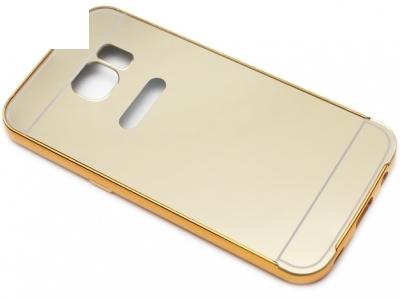 ГЛАНЦИРАН PVC ПРОТЕКТОР ЗА SAMSUNG GALAXY S7 SM-G930 - Gold