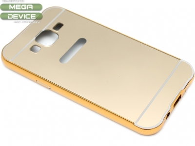 ГЛАНЦИРАН PVC ПРОТЕКТОР ЗА SAMSUNG GALAXY J5 SM-J500F - Gold