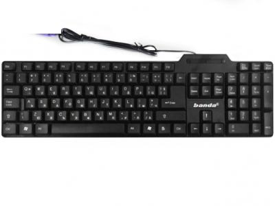 КЛАВИАТУРА BANDA KB32 PS2 - Black