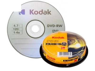 DVD-RW 4 x 4.7GB KODAK / 1 бр.