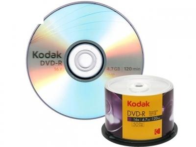 DVD-R 16 x 4.7GB KODAK / 1 бр.