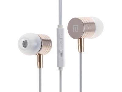 MЕТАЛНS Ακουστικά με μικρόφωνο LANGSTON i-7 - Χρυσό
