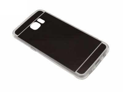 Калъф Гръб Силикон - T1 Mirror Samsung Galaxy S7 EDGE G935 Черен