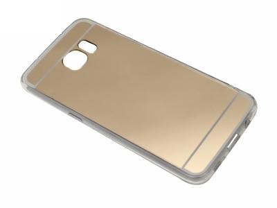 Калъф Гръб Силикон - T1 Mirror Samsung Galaxy S7 EDGE 2016 G935 Златен