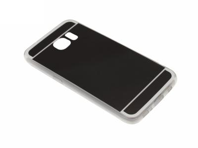 Калъф Гръб Силикон - T1 Mirror Samsung Galaxy S7 G930 Черен