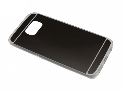 Калъф Гръб Силикон - T1 Mirror Samsung Galaxy S6 EDGE 2015 G925 Черен