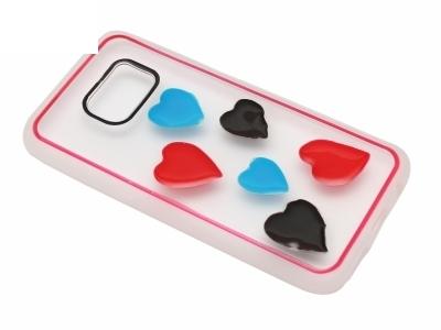Калъф Гръб Силикон - D5 Samsung Galaxy S7 G930 Сърце