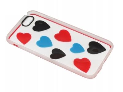 Калъф Гръб Силикон - D5 iPhone 6 4.7 Сърца