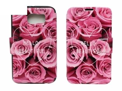 Калъф Тефтер Странично Отваряне 1105 - Samsung Galaxy S6 G920 Hello Beautiful