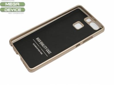 Силиконов гръб Jelly Mercury за Huawei P9 2016, Златен
