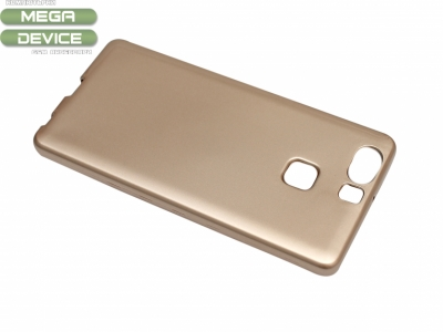 Силикон Jelly Mercury - Huawei P9 Златен