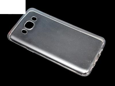 Силикон Ултра Слим - Samsung Galaxy J5 (2016) J5100 Прозрачен - релеф