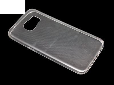 Силикон Ултра Слим - Samsung Galaxy S7 Edge (G935) Прозрачен - релеф
