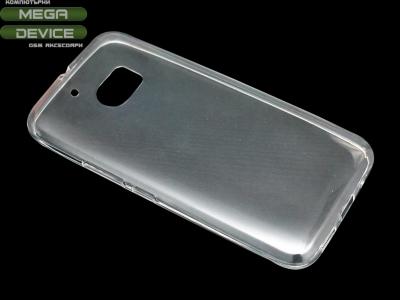 Силикон Ултра Слим - HTC M10 Прозрачен - релеф