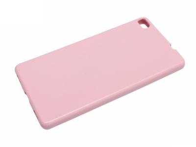 Силикон Jelly Mercury - Huawei P8 (GRA-L09) Бледо Розов