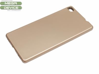 Силикон Jelly Mercury - Huawei P8 (GRA-L09) Златен