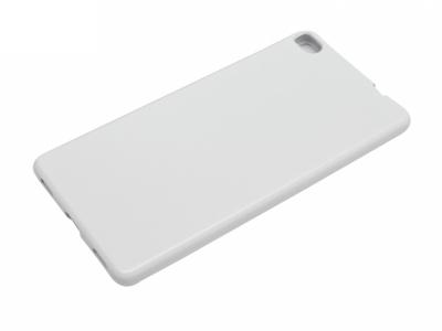 Силикон Jelly Mercury - Huawei P8 (GRA-L09) Бял