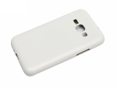 Силиконов гръб Jelly Mercury за Samsung Galaxy J1 2016 J120F, Бял
