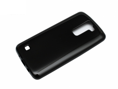 Силиконов гръб Jelly Mercury за LG K7 2016 (X210), Черен