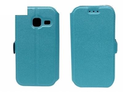 Тефтер странично отваряне - BOOK POCKET Samsung Galaxy J1 Mini (J105H) - Син