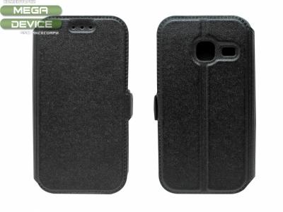 Тефтер странично отваряне - BOOK POCKET Samsung Galaxy J1 Mini (J105H) - Черен