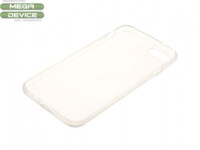 Transparent Glossy Anti-watermark Силиконов Протектор за  iPhone 7