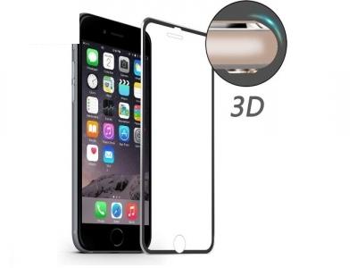 ИЗВИТ СТЪКЛЕН УДАРОУСТОЙЧИВ СКРИЙН ПРОТЕКТОР CURVED ЗА iPhone 7 4.7 HAT PRINCE 0.2mm - Black